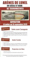 Exposition Lunel 2013
